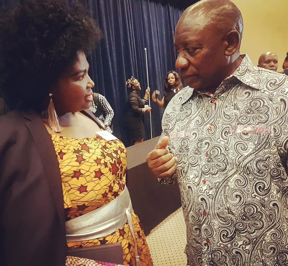 Nokky Ndlovu Cyril Ramaphosa Limit Breakers