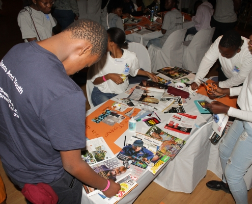 Teen Vision Board and Dialogue | Limit Breakers Global Foundation